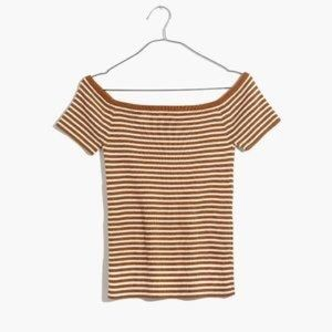 Madewell Striped Top Xs